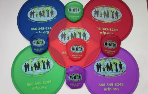 Opvouwbare frisbee met zakje met eigen bedrukking image