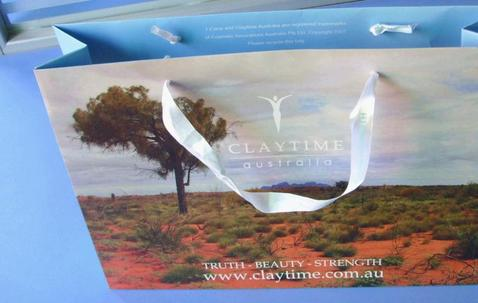Papieren tas 25x35hx10cm - Compleet naar eigen wens image