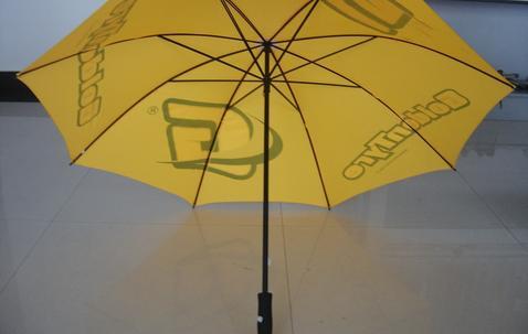 Grote paraplu (76cm), bedrukt met uw uniek ontwerp image
