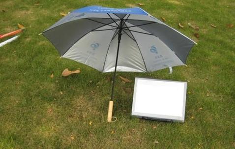 Opvouwbare paraplu (53cm), bedrukt met uw uniek ontwerp image