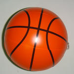 Strandbal, 21 cm bedrukt met uw uniek ontwerp image