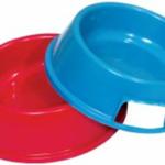 Voerbak huisdieren medium in uw eigen kleur (18 x 14 x 5.5cm) image