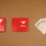 Poker formaat speelkaarten gedrukt naar eigen ontwerp image