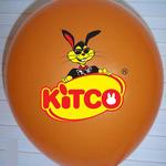 """Bedrukte 12"""" (30cm) ballon met uw logo of ontwerp image"""