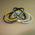 Smalle siliconen armbandjes (6mm wide) Compleet naar wens image